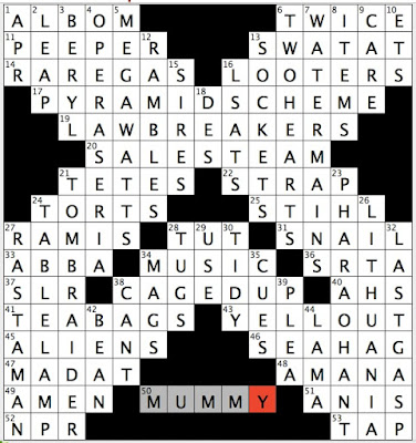 Rex Parker Does the NYT Crossword Puzzle: Popeye villain ...