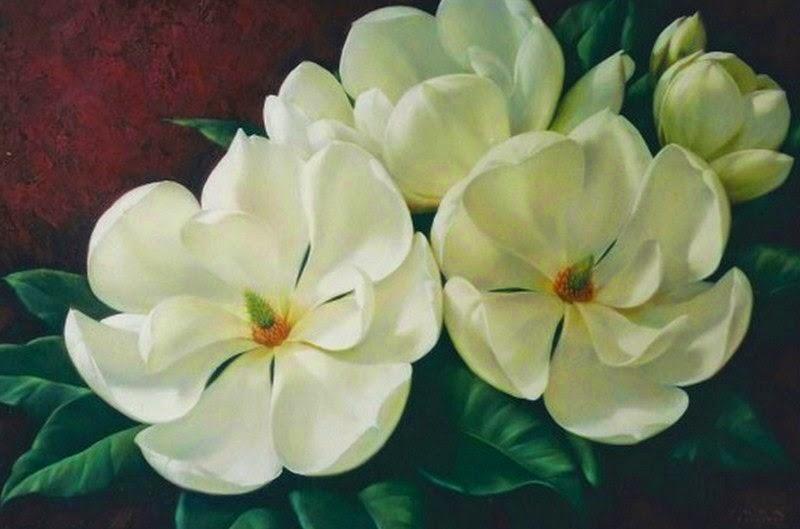 Imagenes Arte Pinturas Pinturas Flores Grandes