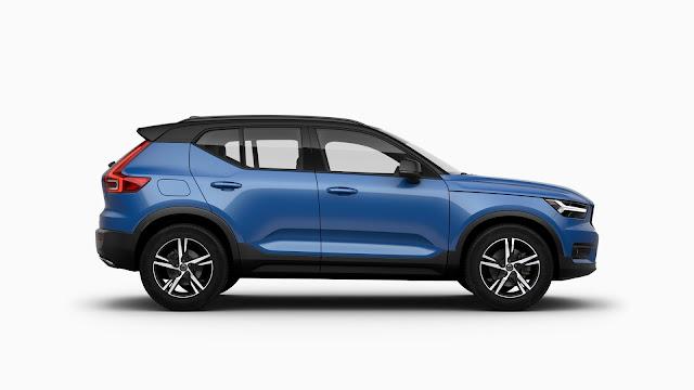 2018 Volvo XC40 blue hd image
