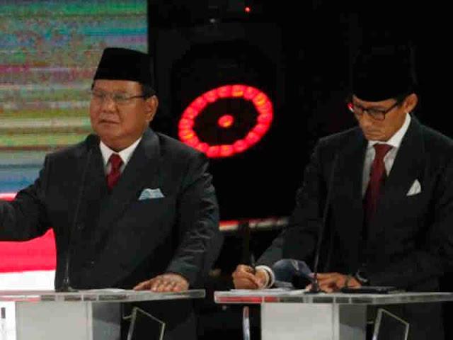 Bila Menang Pilpres 2019, Prabowo Subianto dan Sandi Uno Janji Tidak Ambil Gaji