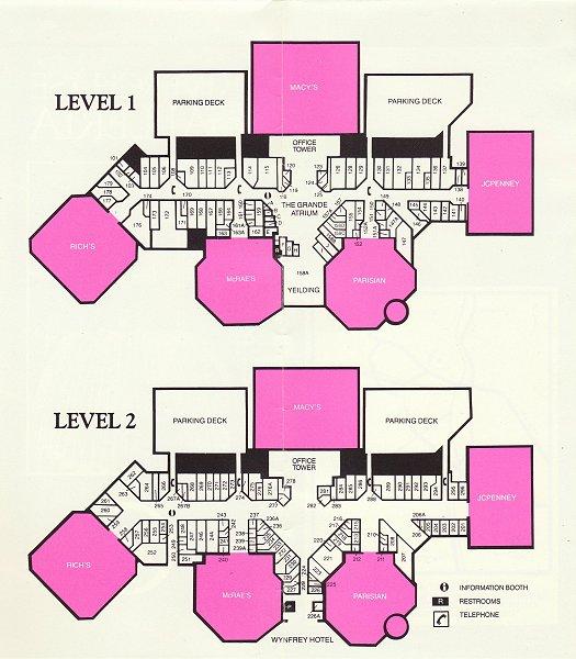 Macy S Herald Square Floor Plan: Riverchase Galleria, Hoover, AL