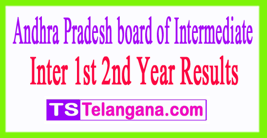AP Inter 1st 2nd Year Results 2017
