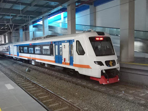 Kereta api ke Bandara Soekarno-Hatta
