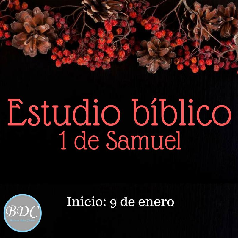 Estudio bíblico para mujeres del libro de 1 de Samuel. Gratis, diario de estudio, preguntas diarias, versículos para meditar y grupo de apoyo.
