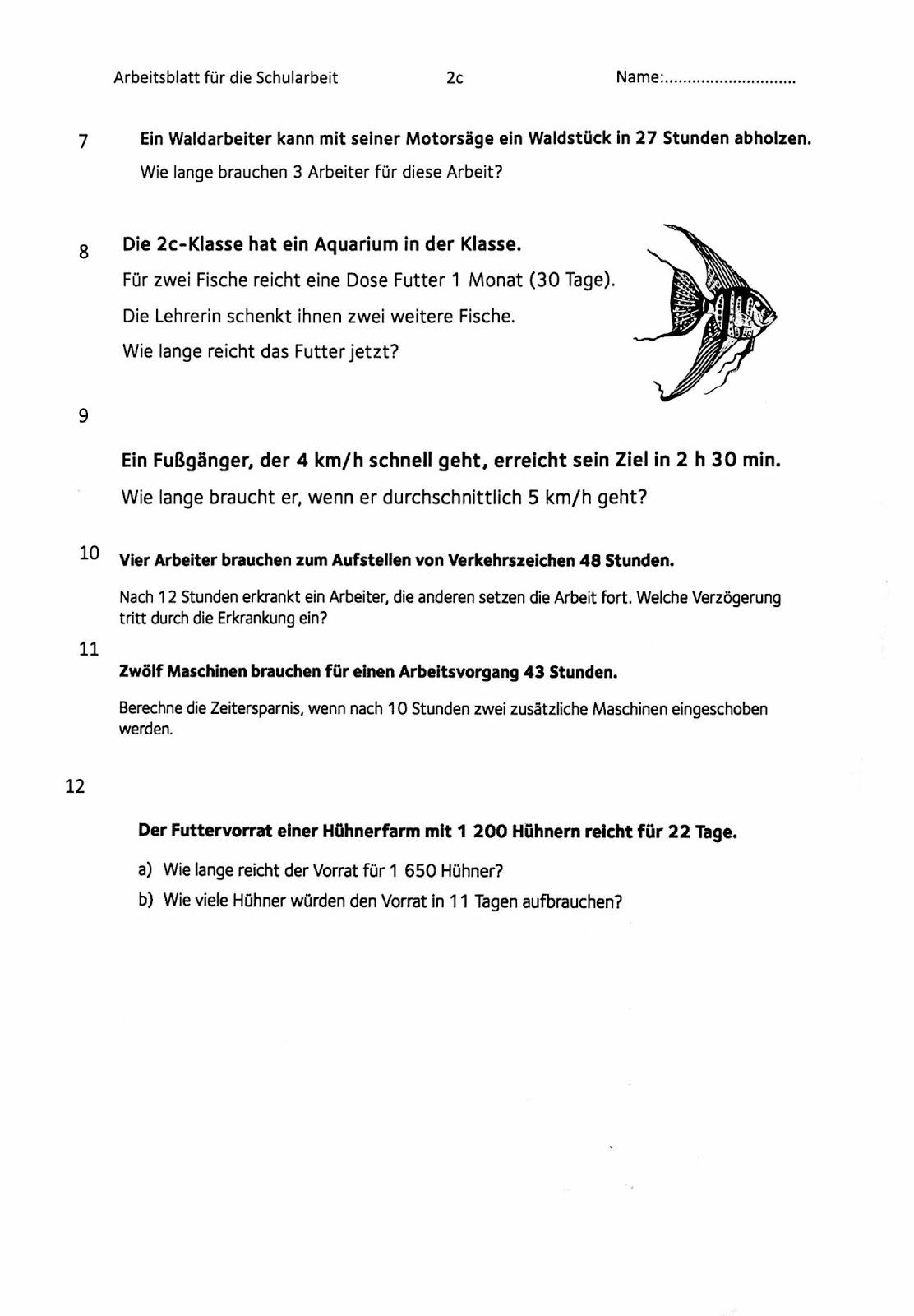 Klassenblog -2C-: Arbeitsblatt Zuordnungen