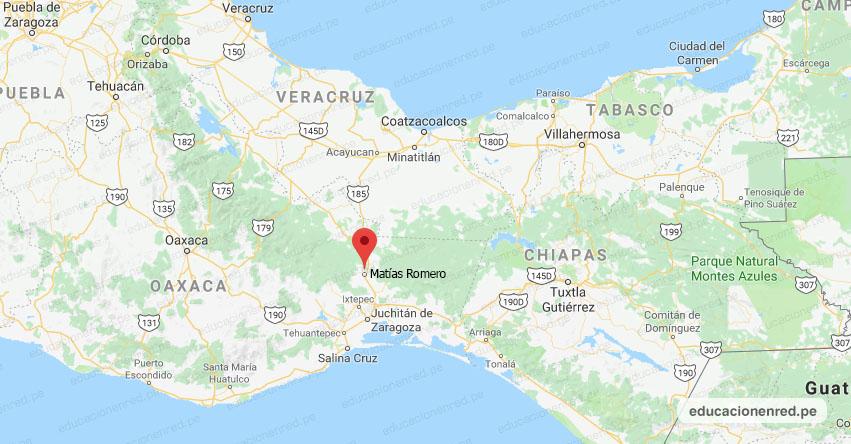 Temblor en México de Magnitud 4.8 (Hoy Martes 21 Enero 2020) Sismo - Epicentro - Matías Romero - Oaxaca - OAX. - SSN - www.ssn.unam.mx