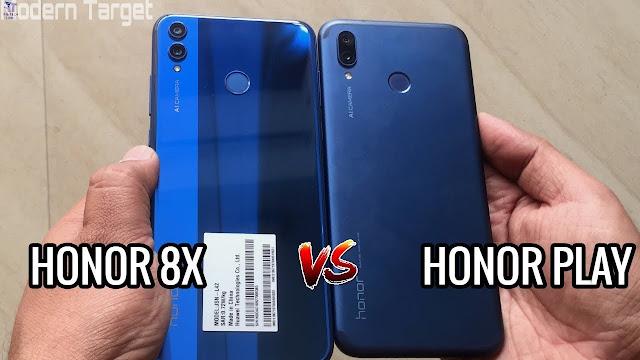 Honor 8X vs Honor Play - Modern Target