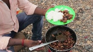 PEPPER CHICKEN making in Athani River Erode Dist