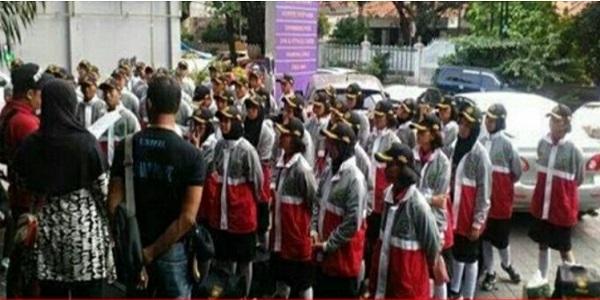 Duh! Baju Paskibra Bermotif Salib, Dispora Banten Akhirnya Minta Maaf di Depan FPI