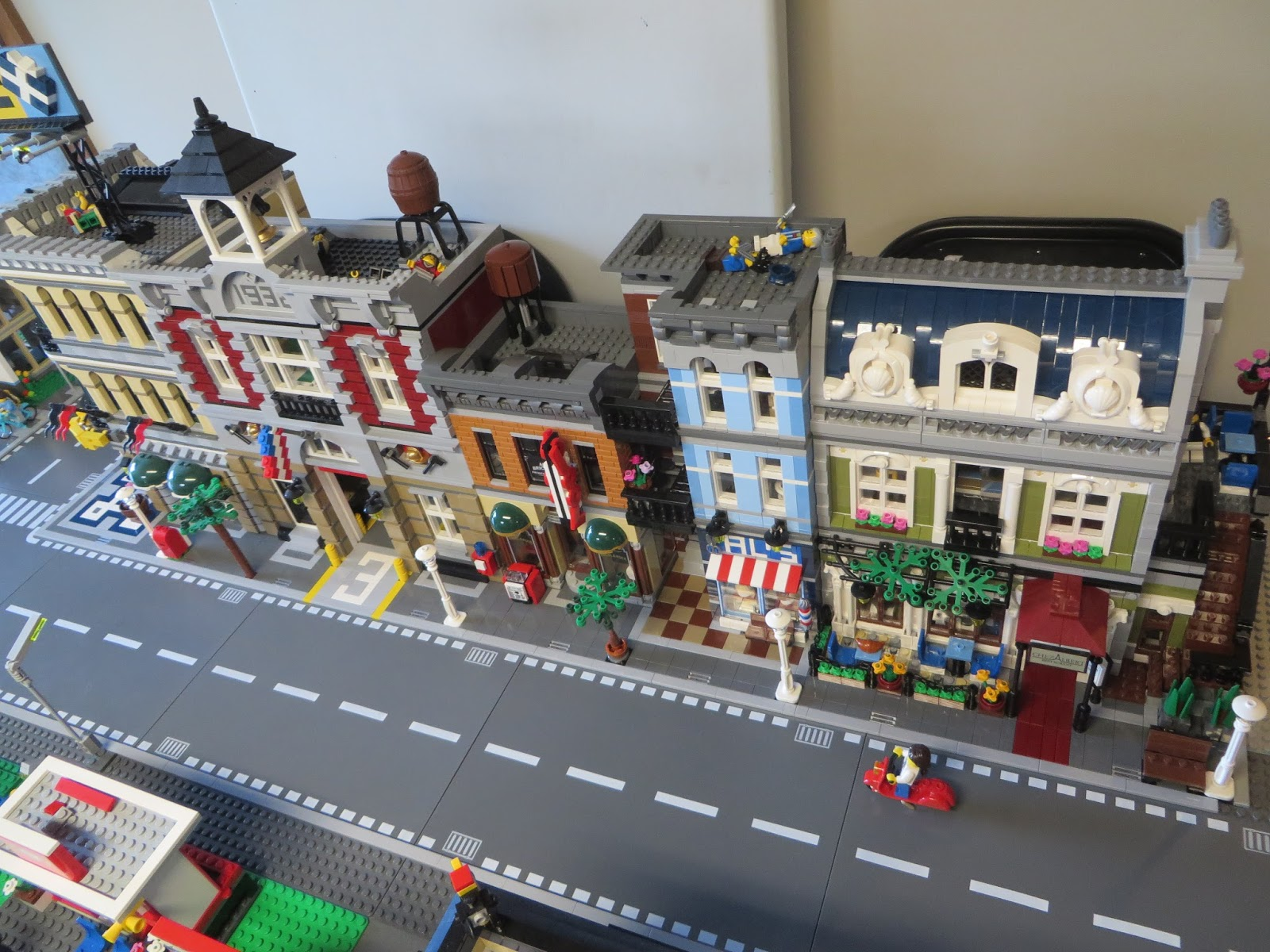 Thoughts On Blocks: Lego City Layout: Module A