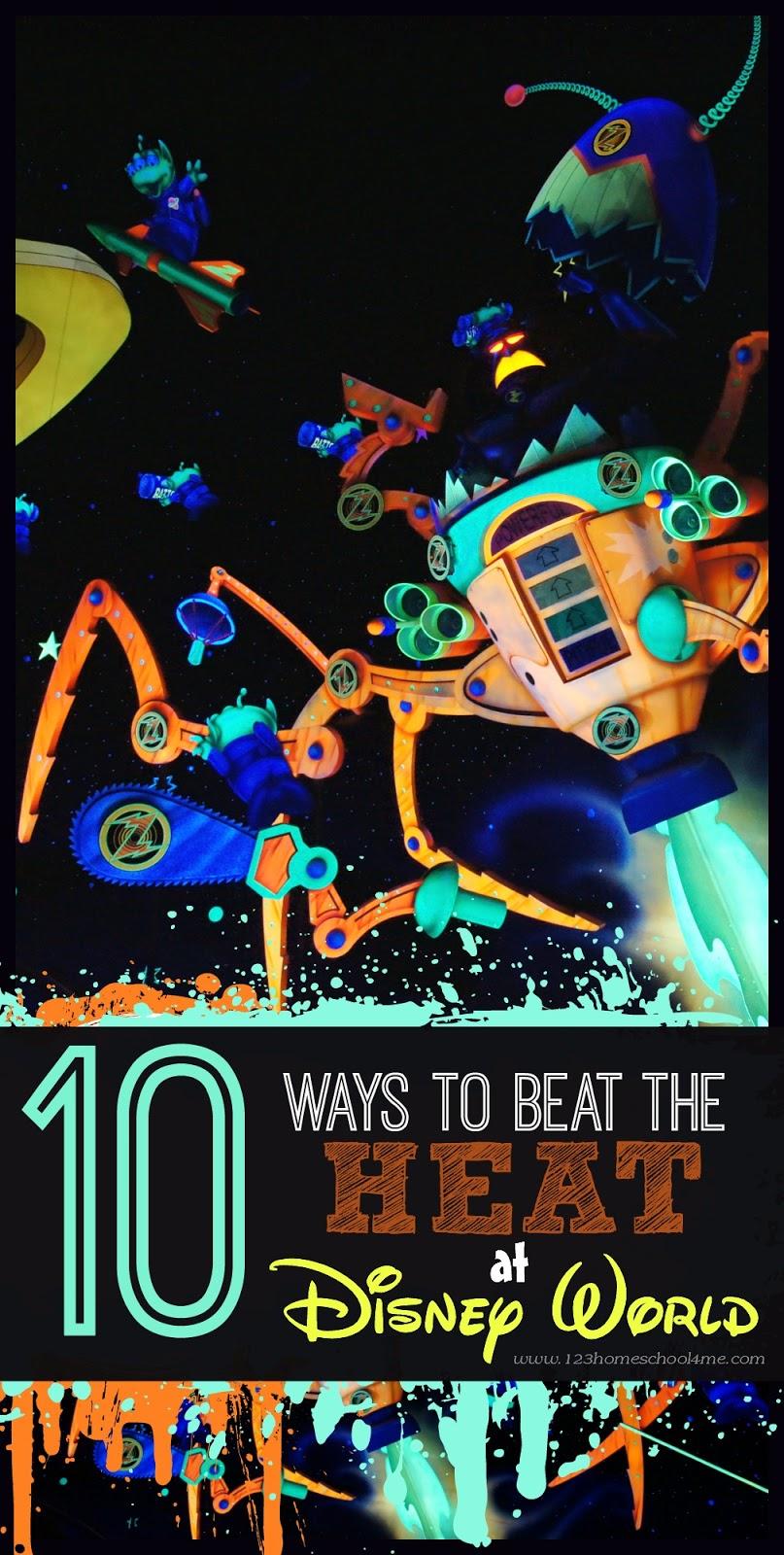 10 Ways to Beat the Heat at Disney World