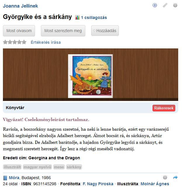 https://moly.hu/konyvek/joanna-jellinek-gyorgyike-es-a-sarkany