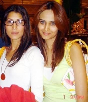 Vaneeza Ahmed with Mehreen Syed