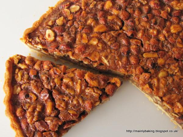 Mainly Baking: Honey Nut Tart