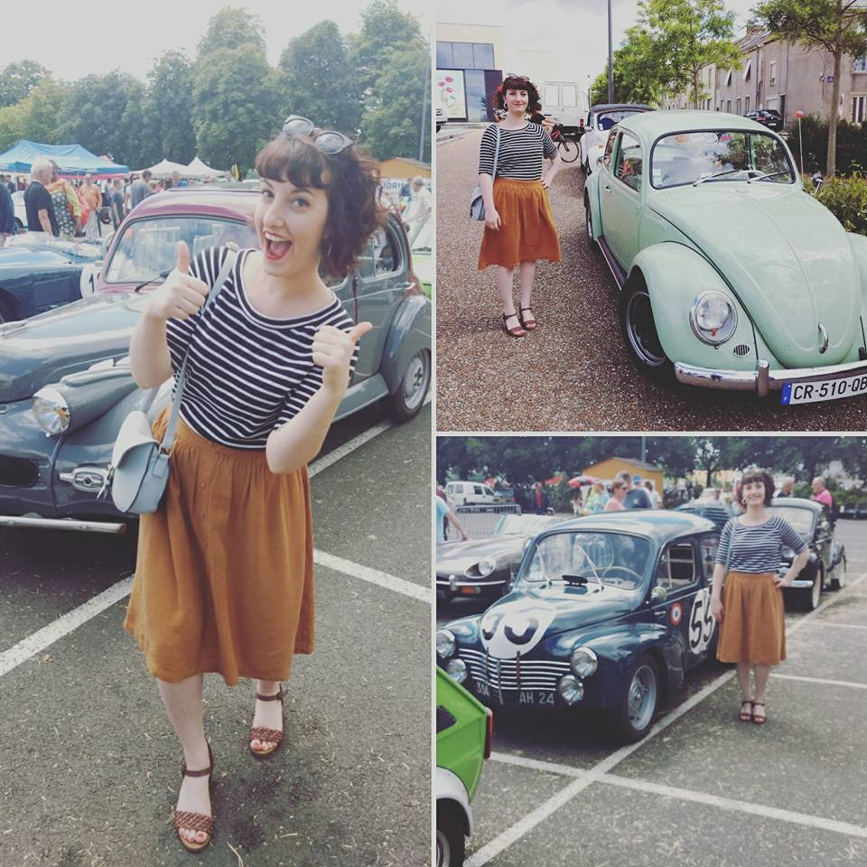 style vintage pinup et voitures anciennes