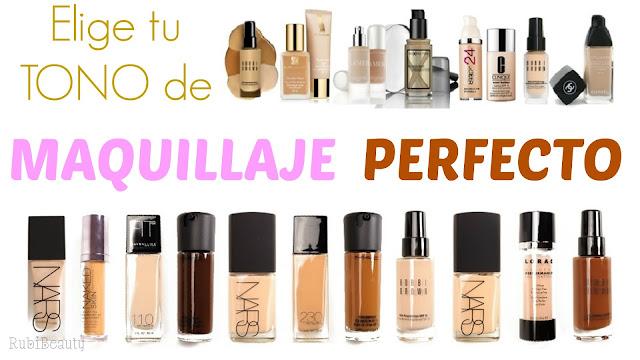 como elegir tono base maquillaje perfecto correcto temptalia findation