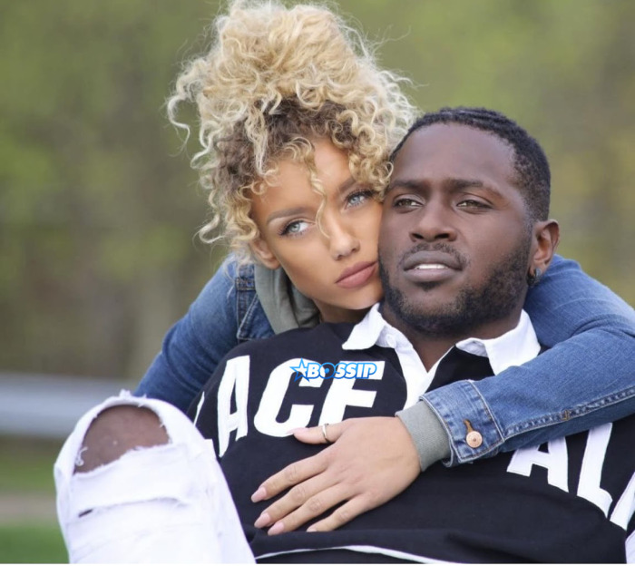 Antonio Brown S Wife And Ex Girlfriend Chelsie Kyriss And Kids