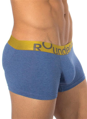 Rounderbum Lift Trunk Underwear Heather Blue Gayrado Online Shop