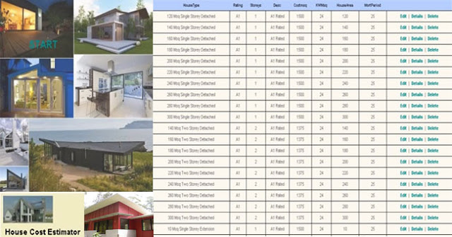 House construction cost calculator engineering society for Home building price calculator