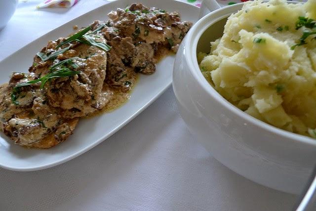 Cuisine maison d 39 autrefois comme grand m re recette de pur e de pommes de terre la cr me et - Faire de la puree maison ...