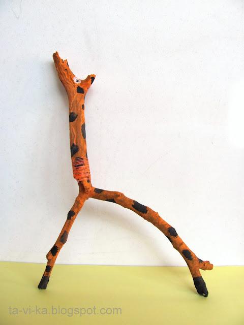 поделки из палочек nature craft