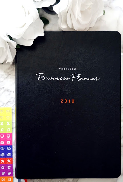 WeekView International 2019 business planner innovative time management system 2018 2020 2021