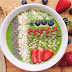 Glowing Green Smoothie Bowl