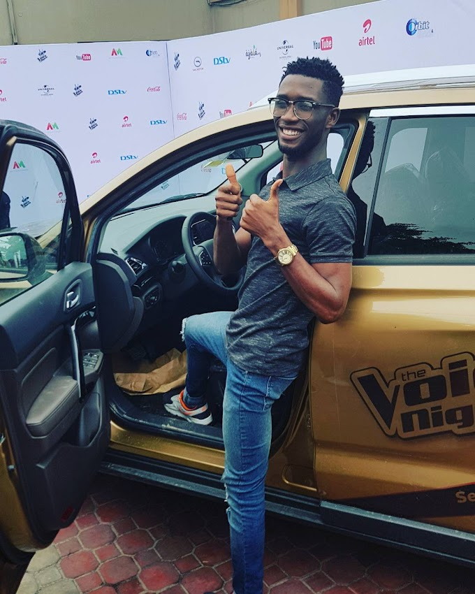 Winner of the Voice Nigeria Season 2, Idyl, recieves new SUV