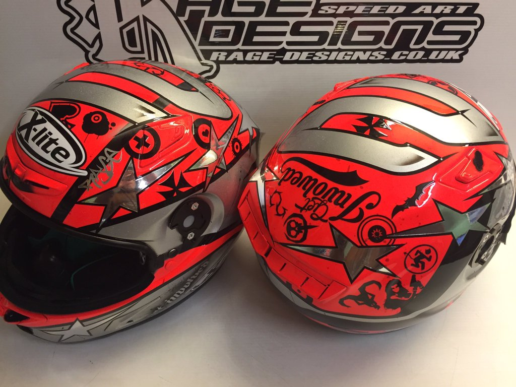 Helm 37 x lite x 802rr l camier donington 2016 by rage for Helm design