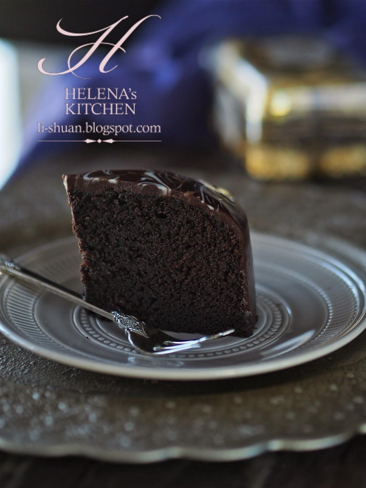 Helena S Kitchen Steam Chocolate Cake (蒸巧克力蛋糕)
