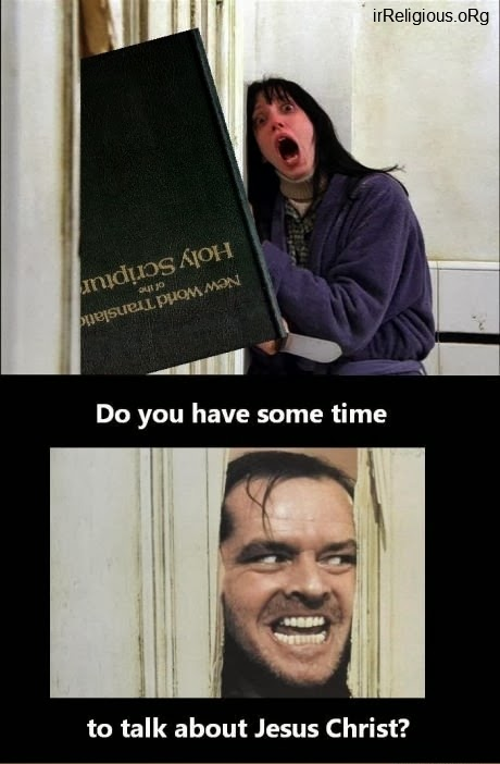 Funny The Shining Jesus Evangelism - Do you have some time to talk about Jesus Christ?