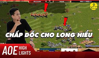 AoE Highlight | Cầm quân tủ nhưng Shenlong vẫn không thể giải được bài toàn Chim Sẻ