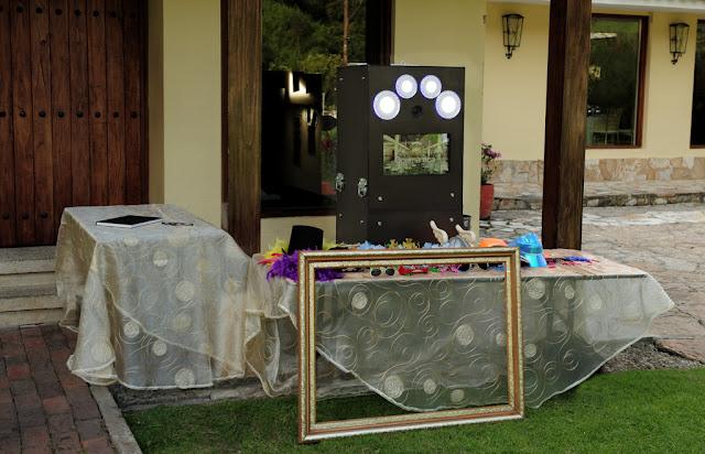 Alquiler de photobooth en la Hacienda El Salitre