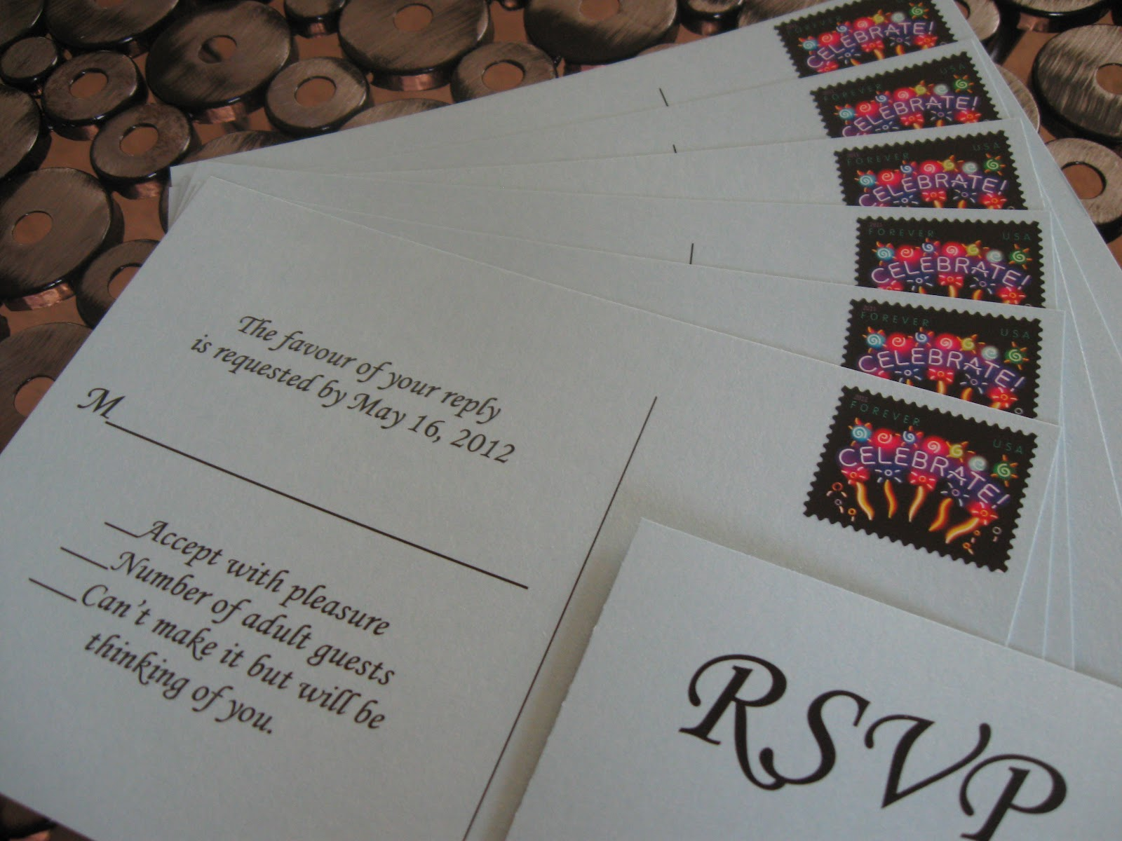 How Much Do Invitations Cost For A Wedding: This And That Creations: Coordinating Wedding Stamps USPS