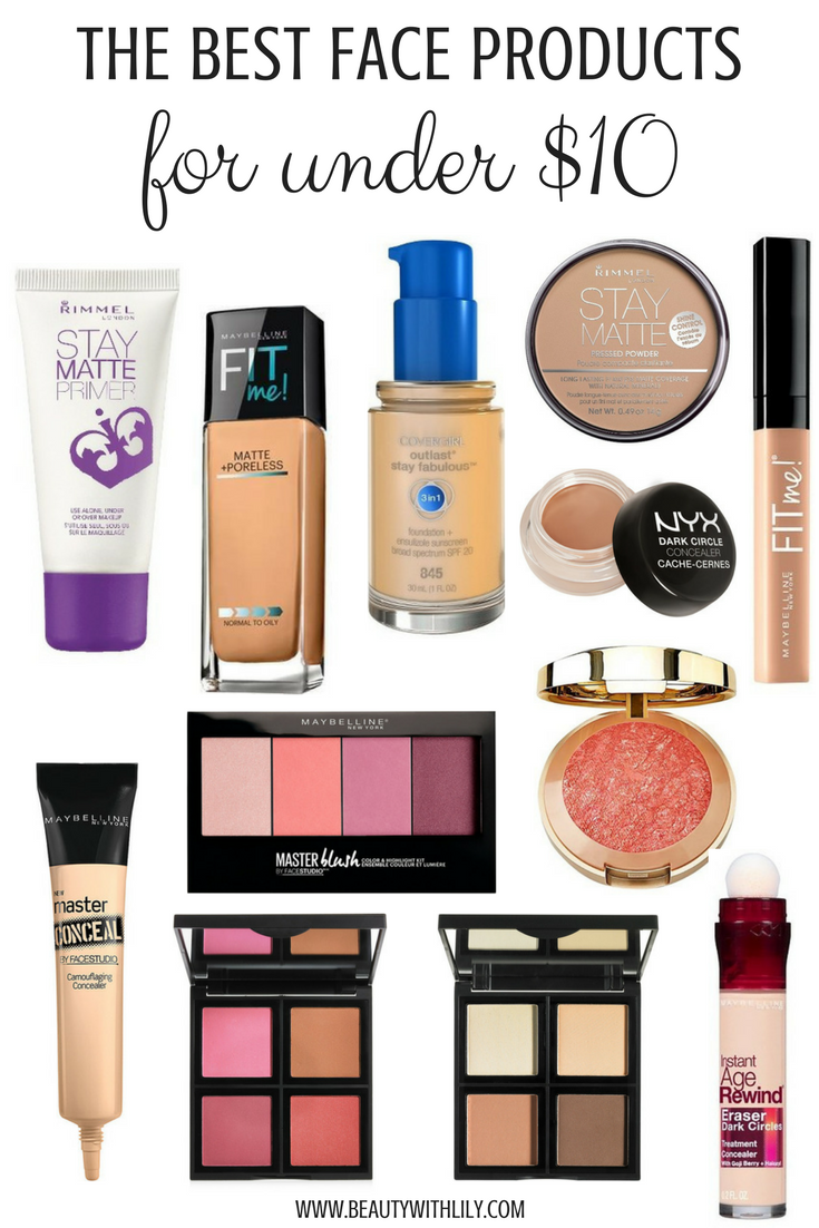 makeup beauty under affordable cheap drugstore beautywithlily face brushes buys eyeshadow foundation cosmetic bargain guide worked tried looks