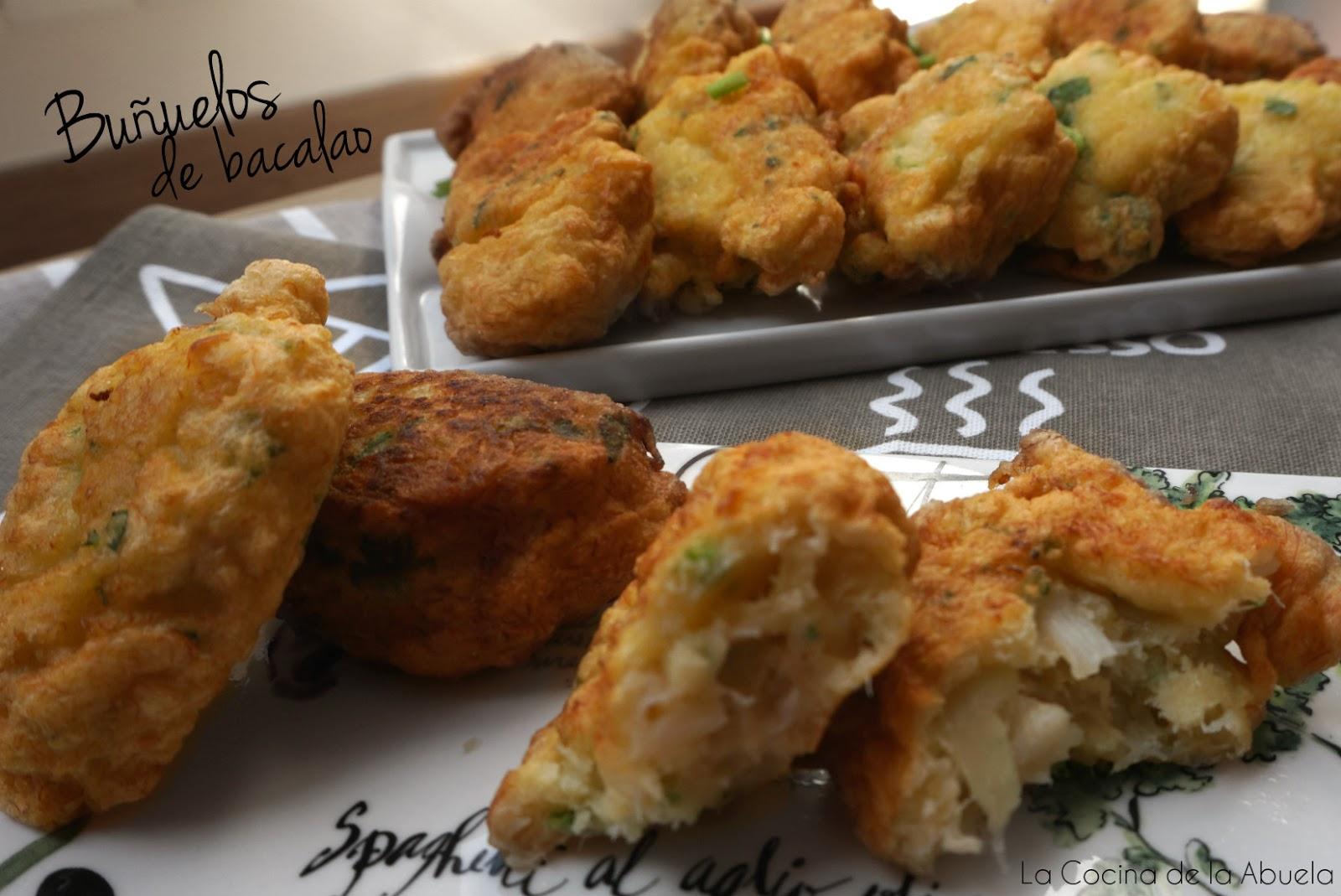 Bu uelos de bacalao la cocina de la abuela - Cocina casera de la abuela ...