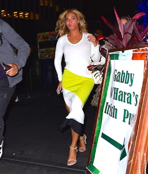 Beyonce Candids while out in NYC