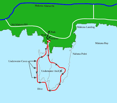 Maui Traffic Map.Five Graves Or Five Caves Snorkeling In Maui Mark Shoberg The