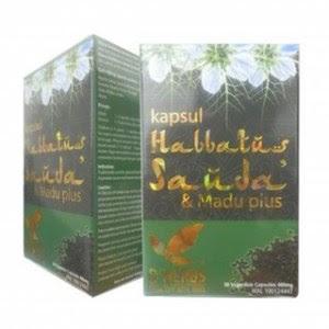 KAPSUL HABBATUSAUDA DAN MADU PLUS  Digunakan secara traditional untuk kesihatan umum dan makanan sunnah kanak kanak seawal 2 tahun dan untuk dewasa lelaki dan wanita.  30 kapsul 400mg