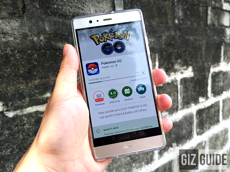 Pokemon GO Now Official In The Philippines, Downloadable Via Google Play Store!
