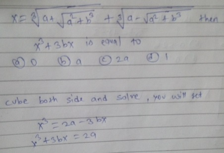 Important Previous year Questions of Algebra with Solution