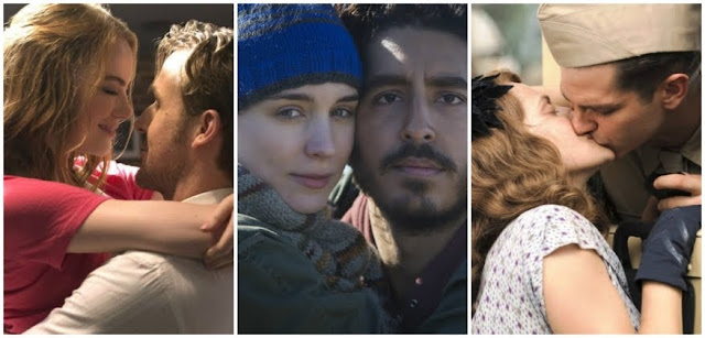 Oscar 2017, Winner Predictions, Academy Awards, collage, La La Land, Lion, Hacksaw Bridge