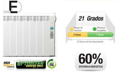 Calefactor bajo consumo