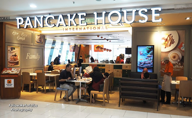 PANCAKE HOUSE International At Quill City Mall Kuala Lumpur