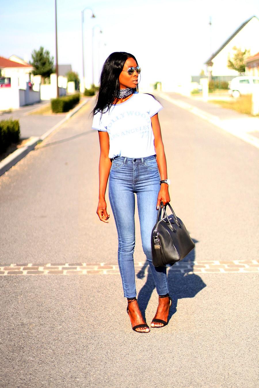 rayban-lunettes-miroir-sac-givenchy-antigona-mom-jeans-taille-haute-ootd