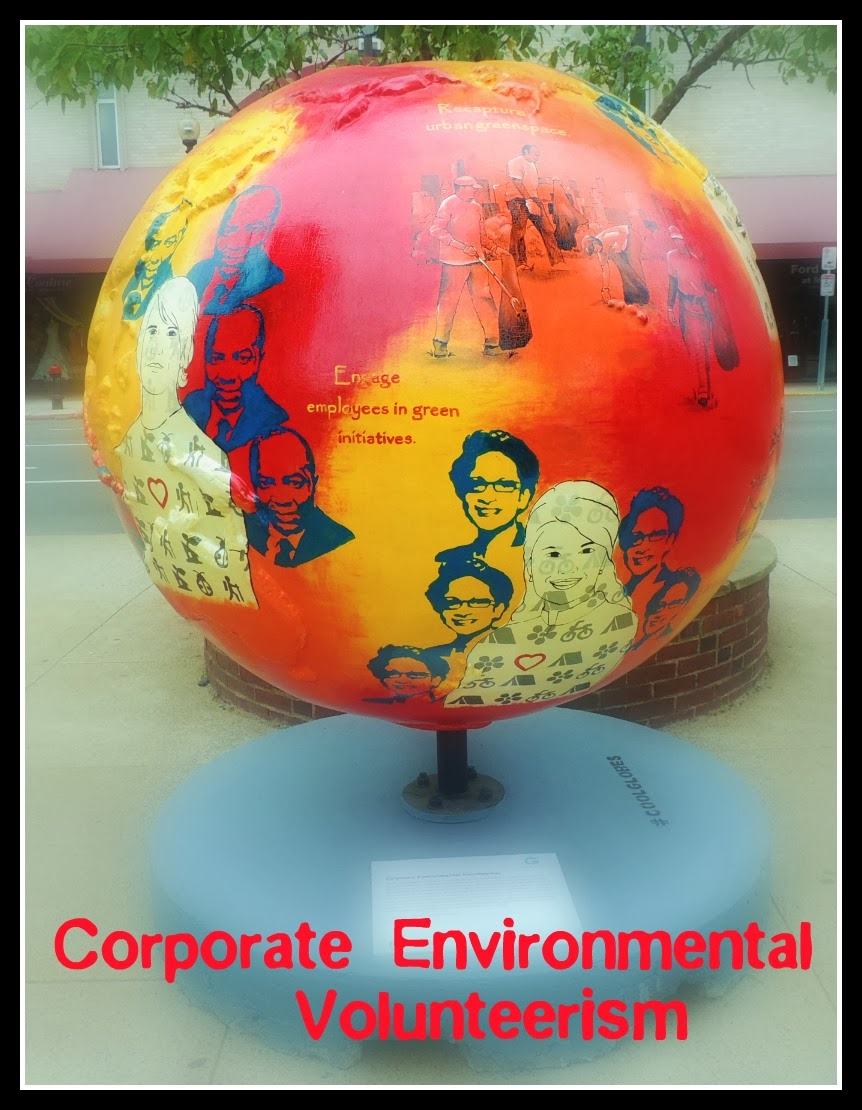 The Cool Globes en Boston: Corporate Environmental Volunteerism
