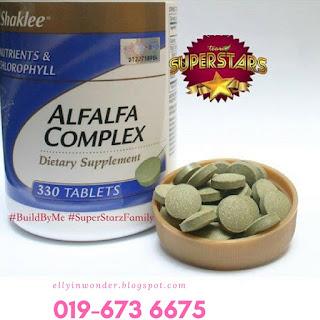 Pengedar Shaklee Sepang | Alfalfa Complex Shaklee