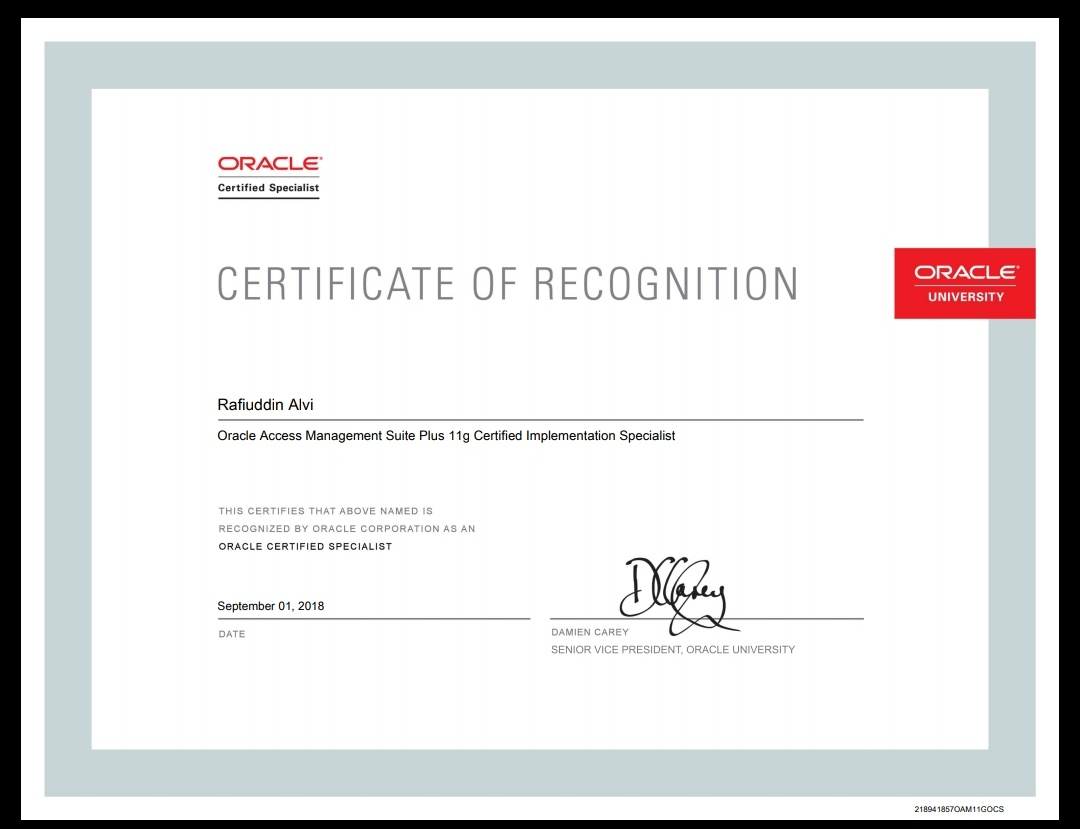 Rafi Oracle Dba Apps Dba Blog Completed Oracle Access