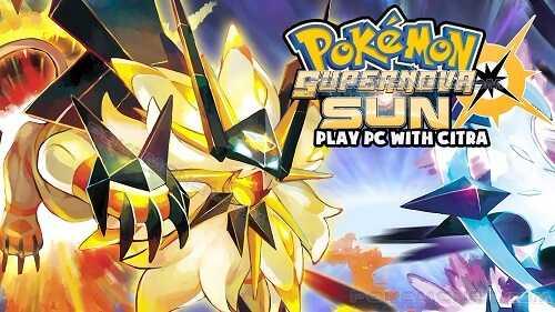 Pokemon Supernova Sun decrypted Citra