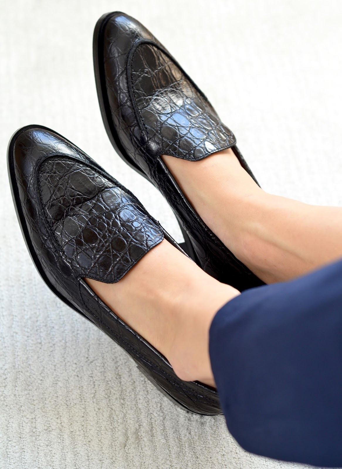 f51b5e68808 Everlane Modern Croc Loafer Photos Review Sizing Fit Information